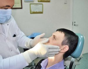 Пальпация в стоматологии